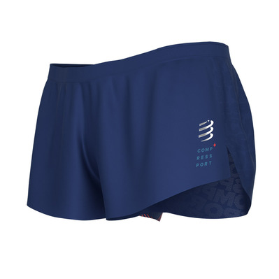 RACING SPLIT - Short hombre blue