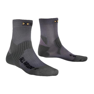 ALL AROUND LONG - Calcetines anthracite