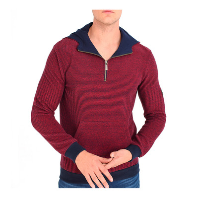 6019 - Sweat Homme claret red