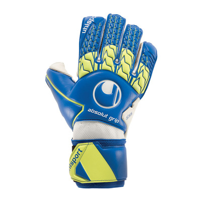 ABSOLUTGRIP - Gants gardien navy/fluo yellow