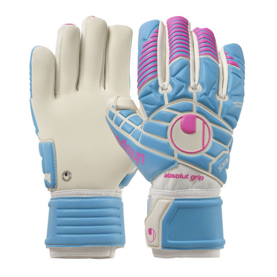 TIGHT ABSOLUTGRIP HN - Gants gardien true blue/white/magenta
