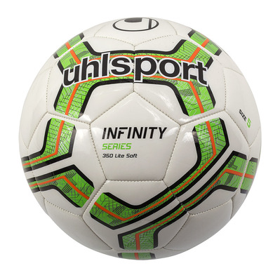 INFINITY 350 LITE SOFT - Ballon white/green fluo/black