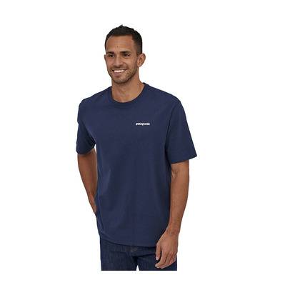 PATAGONIA - M's P-6 Logo Responsibili-Tee Homme Classic Navy