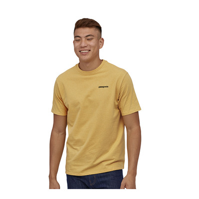 PATAGONIA - M's P-6 Logo Responsibili-Tee Homme Surfboard Yellow