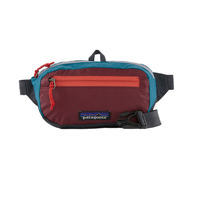 PATAGONIA - ULTRALIGHT BLACK HOLE 1L - Sac banane patchwork/roamer red