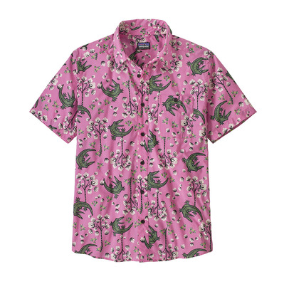 PATAGONIA - GO TO - Chemise Homme cotton ball gators/marble pink