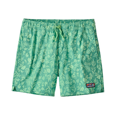 PATAGONIA - STRETCH WAVEFARER VOLLEY - Boardshort Homme fiber flora/light beryl green