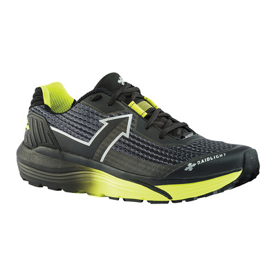 RAIDLIGHT - RESPONSIV ULTRA SHOES Homme BLACK/LIME GREEN
