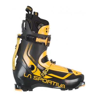 SPITFIRE 2.1 - Chaussures ski black/yellow