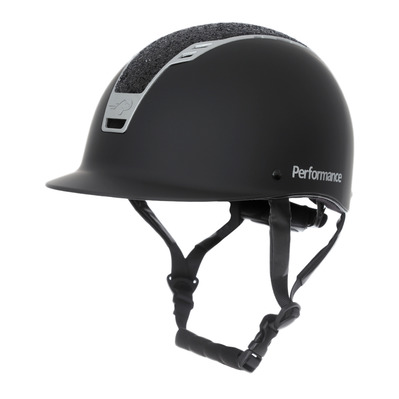 Performance 20710200 - Casque mat/strass noir