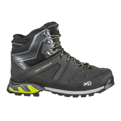MILLET - HIGHROUTE GTX - Hiking Shoes - Men's - black/acid green