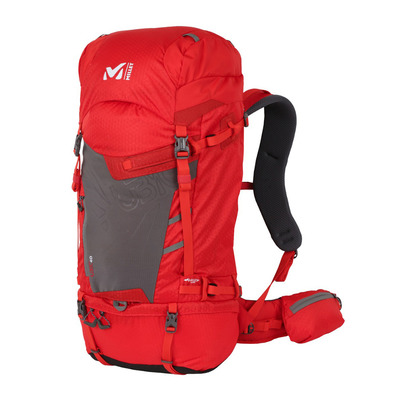 MILLET - UBIC 40L - Backpack - fire/castel grey