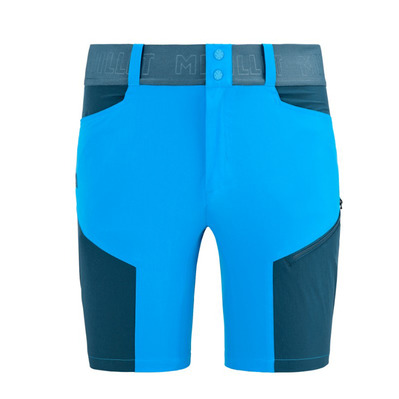 MILLET - ONEGA STRETCH - Short hombre electric blue/orion blue