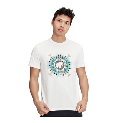 MAMMUT - Trovat T-Shirt Men Homme bright white PRT1