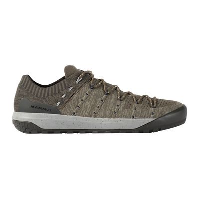 MAMMUT - HUECO KNIT LOW - Chaussures approche Homme tin/dark tin