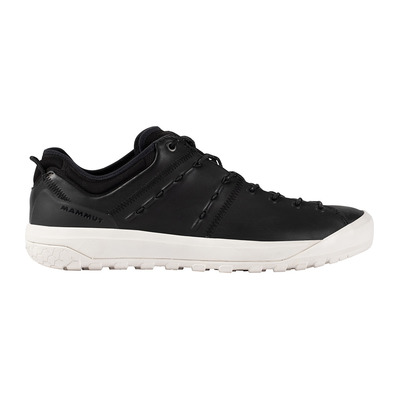 MAMMUT - HUECO ADVANCED LOW - Chaussures approche Homme black/bright white