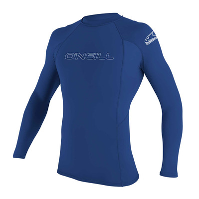O'NEILL - Basic Skins L/S Rash Guard Homme 018 PACIFIC
