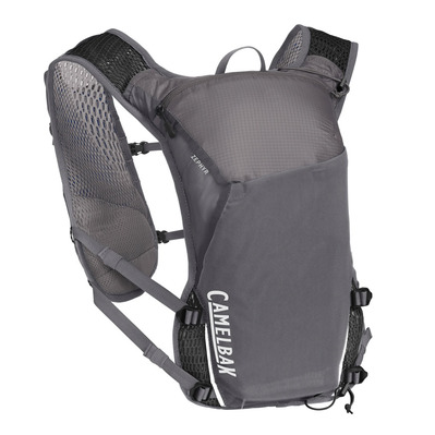 CAMELBAK - ZEPHYR 11L - Sac d'hydratation + 2 flasques Homme castlerock grey/black
