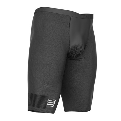 COMPRESSPORT - RUNNING UNDER CONTROL M - Short a compressione Uomo black