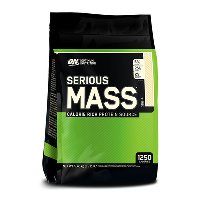 SERIOUS MASS - Gainer 5.45kg vanille