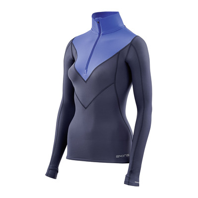 DNAMIC THERMAL - Maillot Femme navy blue/bright blue