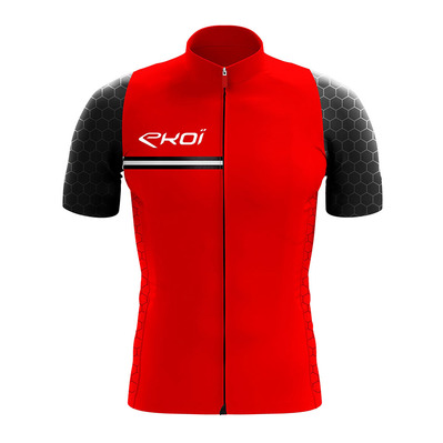 HEXAGONE - Maillot Homme red