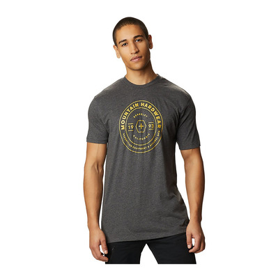 MOUNTAIN HARDWEAR - GEO MARKER - Tee-shirt Homme heather black