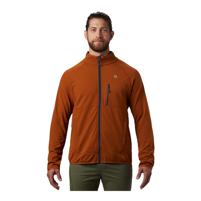MOUNTAIN HARDWEAR - NORSE PEAK - Fleece - Men's - rust earth