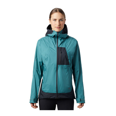 MOUNTAIN HARDWEAR - EXPOSURE 2 GTX - Veste Femme washed turq