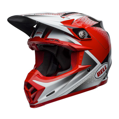 MOTO-9 FLEX HOUND - Casque off-road mat/brillant