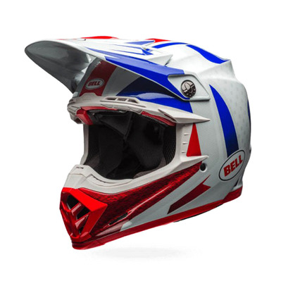 MOTO-9 FLEX VICE - Casque off-road blue/red
