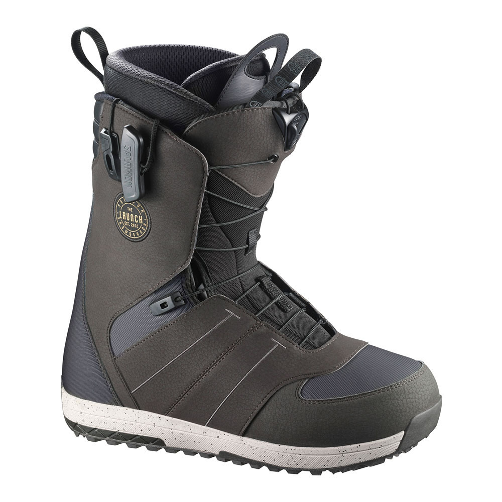 BOURSE AUX SKIS Salomon LAUNCH Boots snowboard Homme grey