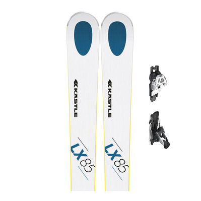 LX85 - Skis all mountain Homme + Fixations K13 ATTACK DEMO B95 white