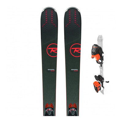 EXPERIENCE 88TI - Skis all mountain + Fixations NX 12 KONECT GW B90 black/orange