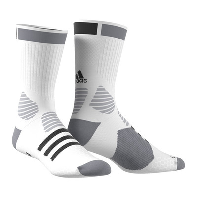 BASKET ID FC - Calcetines hombre white/black/grey