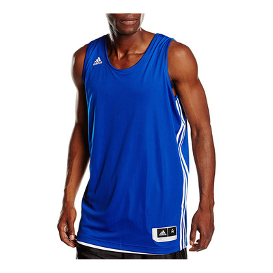 PRACTICE - Camiseta reversible hombre royal blue/white