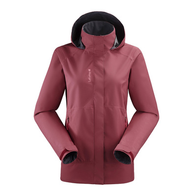 LAFUMA - WAY GTX ZIP-IN - Chaqueta mujer cherry/cherry