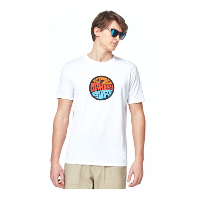 OAKLEY - GRAFFITI 1975 SS - Tee-shirt Homme white