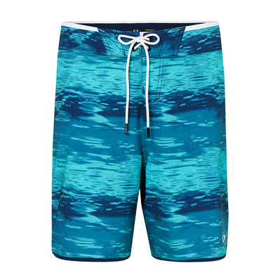 OAKLEY - WATER 19 - Boardshort hombre blue water print