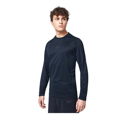 OAKLEY - FOUNDATIONAL TRAINING LS - Camiseta hombre blackout
