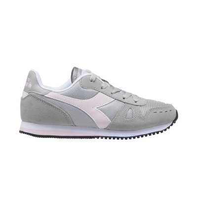 SIMPLE RUN GS - Chaussures Junior grey/pink