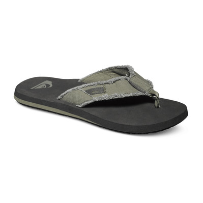 QUIKSILVER - MONKEY ABYSS - Chanclas hombre green/black/brown
