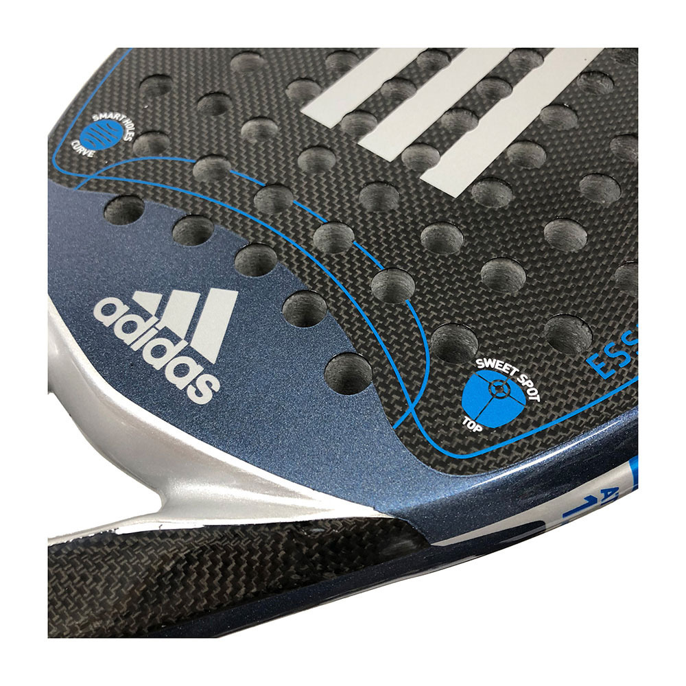 préstamo Aniquilar Afilar  PADEL SPECIAL Adidas ESSEX CARBON ATTACK 1.8 - Padel Racket - silver -  Private Sport Shop