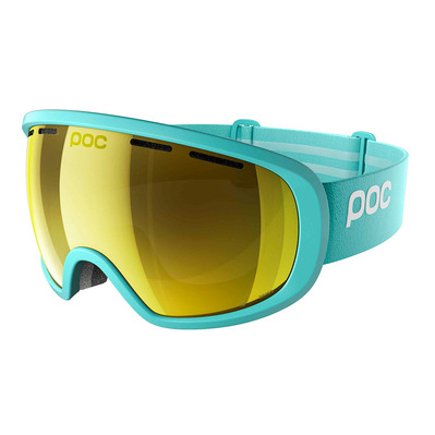 FOVEA CLARITY - Masque de ski tin blue/spektris gold
