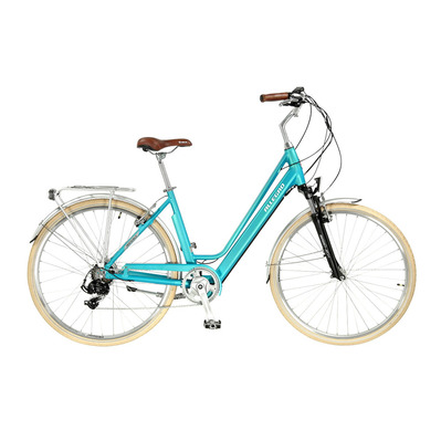 "INVISIBLE CITY LIGHT 28"" - Bici de trekking eléctrica light blue"