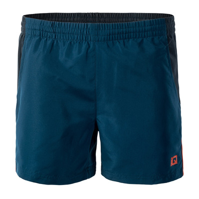IQ SILMO - Short hombre gibraltar sea/carbon/valiant poppy