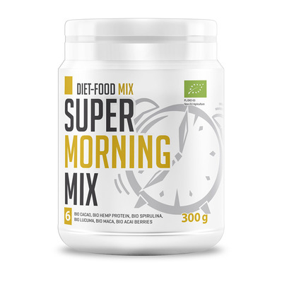 Diet food BIO SUPER MORNING MIX - Pot de poudre 300g