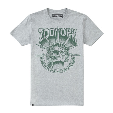 DEATH OF LIBERTY - Tee-shirt Homme grey heather