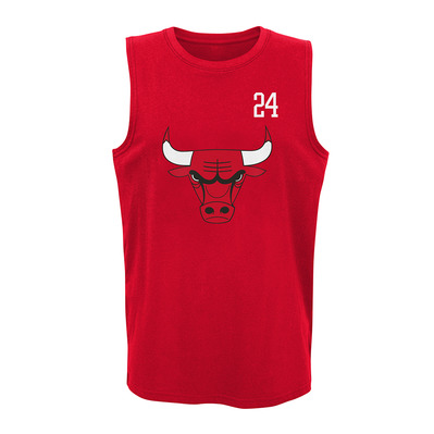 ALL NET CHICAGO BULLS LAURI MARKKANEN - Camiseta de tirantes hombre team color