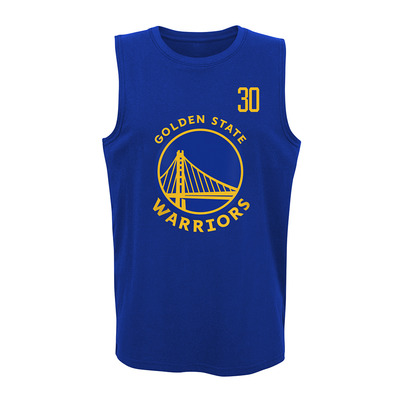 DUNKED GOLDEN STATE WARRIORS STEPHEN CURRY - Camiseta de tirantes hombre team color